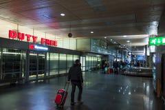 Intérieur d'aéroport international d'Oslo Gardermoen Image stock