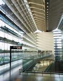Intérieur d'aéroport international de Changi Photographie stock libre de droits