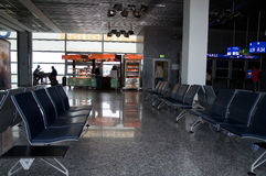 Intérieur d'aéroport international de Francfort Photo libre de droits