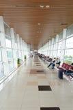 Intérieur d'aéroport international de Kuching Photos stock