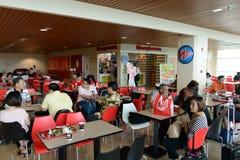 Intérieur d'aéroport international de Kuching Photo libre de droits