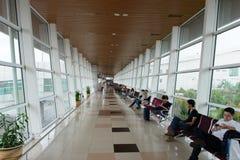 Intérieur d'aéroport international de Kuching Photo stock