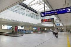 Intérieur d'aéroport international moderne Photo libre de droits