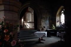 Intérieur d'abbaye de Culross, Ecosse photographie stock