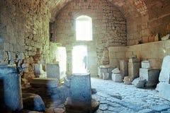 Intérieur d'Acropole Photographie stock