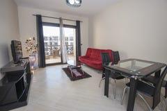 Intérieur d'appartement de luxe Photographie stock libre de droits