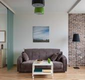 Intérieur d'appartement moderne dans le style scandinave image libre de droits