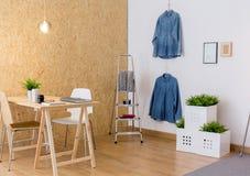 Intérieur d'atelier d'Eco Image libre de droits