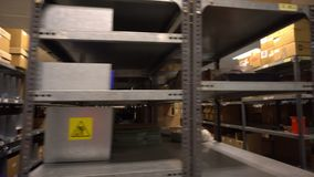 Intérieur d'entrepôt banque de vidéos