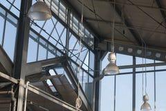 Intérieur d'entrepôt vide photo libre de droits