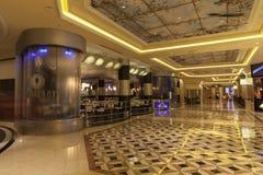 Intérieur d'hôtel de Palazzo à Las Vegas, nanovolt le 2 août 2013 Images stock