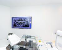 Intérieur d'un bureau dentaire moderne Photographie stock libre de droits