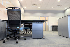 Intérieur d'un bureau neuf Images stock