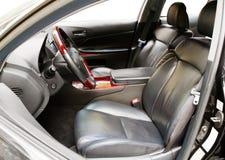 Intérieur d'un véhicule de luxe photos libres de droits