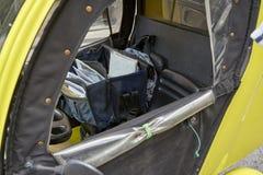 Intérieur d'un véhicule italien de courrier image libre de droits