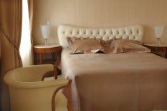 Intérieur d'une chambre à coucher Photos stock