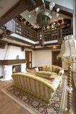 Intérieur d'une salle de séjour Images libres de droits