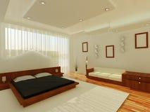 Intérieur d'une salle de sommeil Image libre de droits