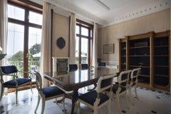 Intérieur d'une salle dinning de luxe Images stock