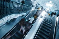 Intérieur d'une station de métro photo stock