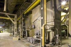 Intérieur d'usine Photos stock