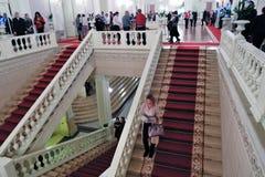 Intérieur de bâtiment historique de théâtre de Bolshoi image stock