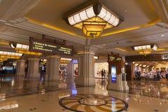 Intérieur de baie de Mandalay à Las Vegas, nanovolt le 19 avril 2013 Image libre de droits
