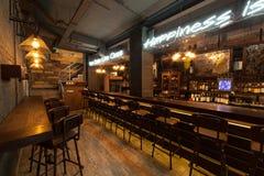 Intérieur de bar photographie stock libre de droits