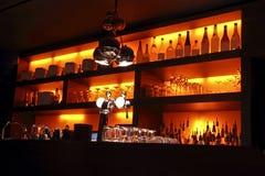 Intérieur de bar de Coctail Images stock