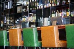 Intérieur de bar du hôtel photos stock