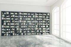 Intérieur de bibliothèque Images libres de droits