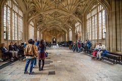 Intérieur de bibliothèque de Bodleian Photographie stock libre de droits