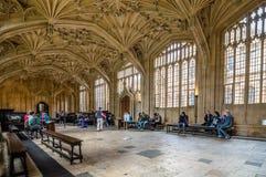 Intérieur de bibliothèque de Bodleian Photos stock