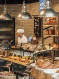 Intérieur de boulangerie Photo libre de droits
