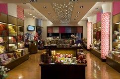 Intérieur de boutique de cadeaux Photographie stock