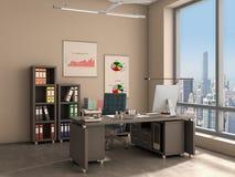Intérieur de bureau, Photos libres de droits