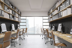 Intérieur de bureau de New York City Image stock