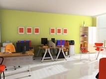 Intérieur de bureau moderne photos libres de droits