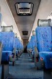 Intérieur de bus Image libre de droits