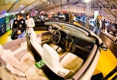 Intérieur de cabrio de Volvo Photos libres de droits