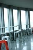 Intérieur de café à la tour de colline de Namsan Image libre de droits