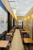 Intérieur de café d'aéroport de Shenzhen Photo stock