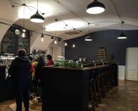 Intérieur de café dans Vyborg, Russie photo libre de droits