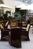 Intérieur de café-restaurant photos stock