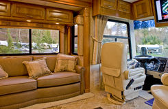 Intérieur de camping-car Image libre de droits