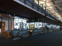 Intérieur de Canada d'aéroport de Vancouver Images libres de droits