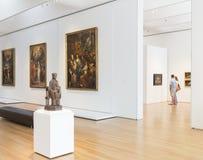 Intérieur de Carolina Museum du nord d'art Photo libre de droits