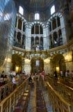 Intérieur de cathédrale d'Aix-la-Chapelle, Allemagne Photo stock