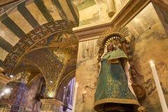 Intérieur de cathédrale d'Aix-la-Chapelle, Allemagne photos libres de droits