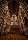 Intérieur de cathédrale d'Ely Image stock